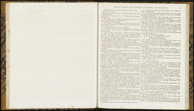 Raadsverslagen van de gemeente Leeuwarden, 1865-2007 (Notulen) 1878-04-25