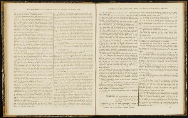 Raadsverslagen van de gemeente Leeuwarden, 1865-2007 (Notulen) 1868-04-09