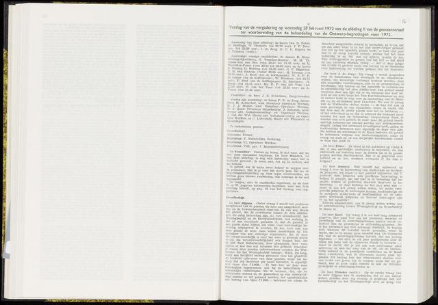 Raadsverslagen van de gemeente Leeuwarden, 1865-2007 (Notulen) 1972-02-23