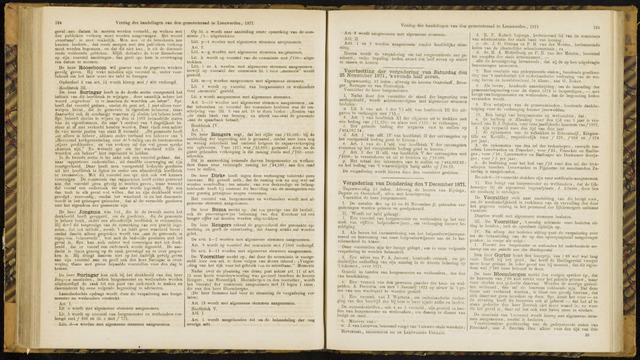 Raadsverslagen van de gemeente Leeuwarden, 1865-2007 (Notulen) 1871-12-07