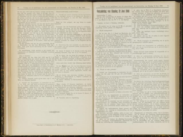 Raadsverslagen van de gemeente Leeuwarden, 1865-2007 (Notulen) 1900-06-12