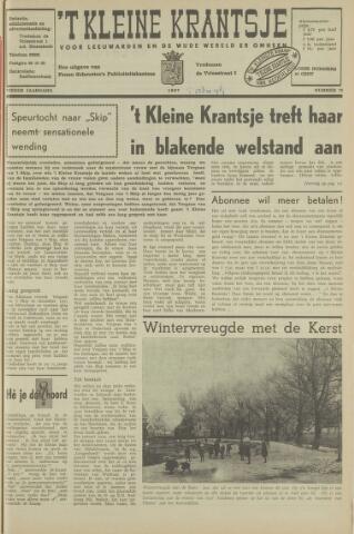 't Kleine Krantsje, 1964-1997 1967-12-28