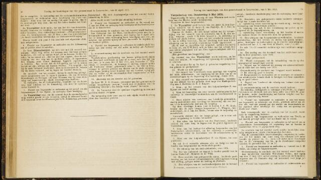 Raadsverslagen van de gemeente Leeuwarden, 1865-2007 (Notulen) 1873-05-08
