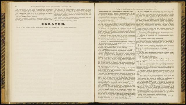 Raadsverslagen van de gemeente Leeuwarden, 1865-2007 (Notulen) 1871-08-10