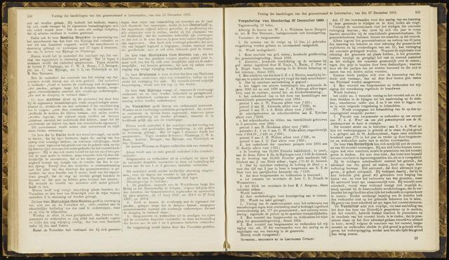 Raadsverslagen van de gemeente Leeuwarden, 1865-2007 (Notulen) 1883-12-27