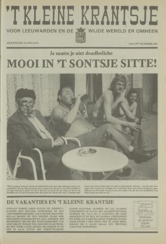 't Kleine Krantsje, 1964-1997 1977-06-24