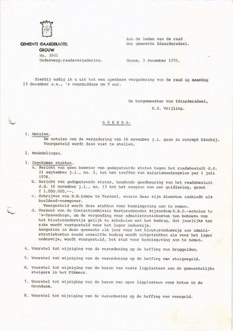 raadsverslagen Idaarderadeel 1935-1983 1976-12-13