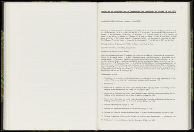 Raadsverslagen van de gemeente Leeuwarden, 1865-2007 (Notulen) 1978-05-16