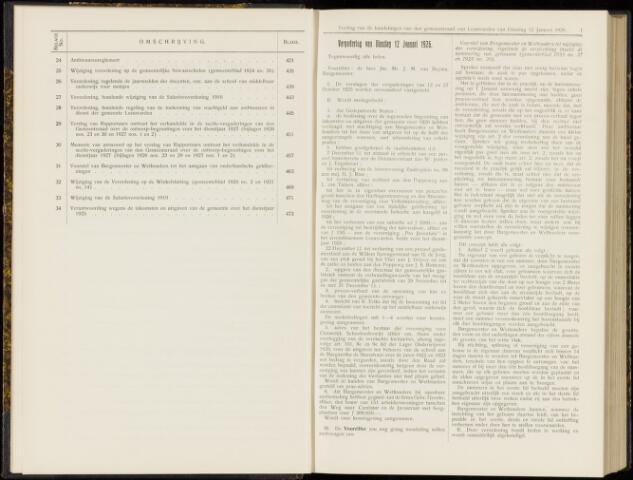 Raadsverslagen van de gemeente Leeuwarden, 1865-2007 (Notulen) 1926
