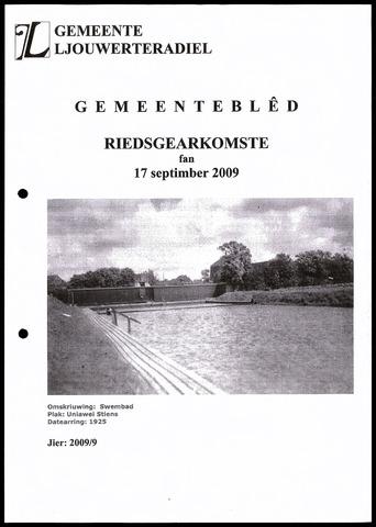 Notulen van de gemeenteraad van Leeuwarderadeel 2009-09-17