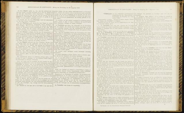 Raadsverslagen van de gemeente Leeuwarden, 1865-2007 (Notulen) 1869-09-07