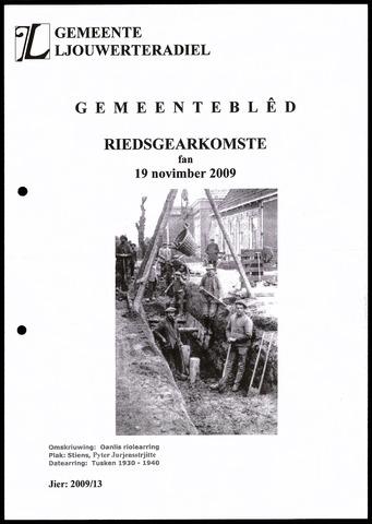 Notulen van de gemeenteraad van Leeuwarderadeel 2009-11-19