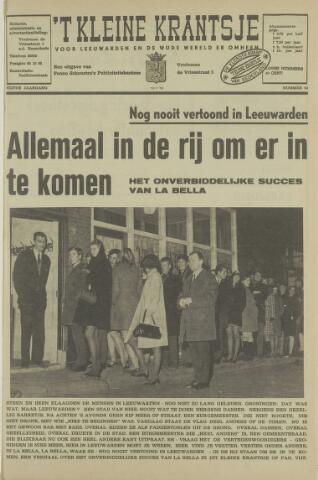 't Kleine Krantsje, 1964-1997 1969-01-22