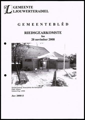 Notulen van de gemeenteraad van Leeuwarderadeel 2008-11-20