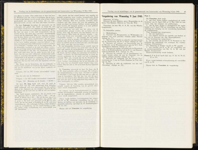 Raadsverslagen van de gemeente Leeuwarden, 1865-2007 (Notulen) 1948-06-09