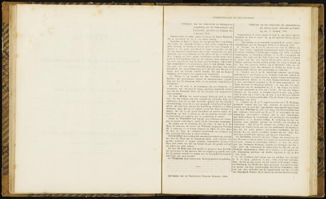 Raadsverslagen van de gemeente Leeuwarden, 1865-2007 (Notulen) 1866-01-09