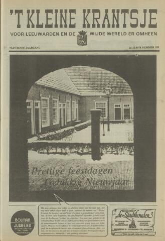 't Kleine Krantsje, 1964-1997 1978-12-23