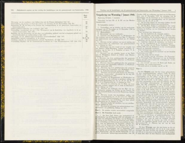 Raadsverslagen van de gemeente Leeuwarden, 1865-2007 (Notulen) 1948