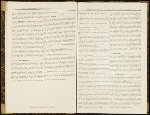 Raadsverslagen van de gemeente Leeuwarden, 1865-2007 (Notulen) 1888-03-13