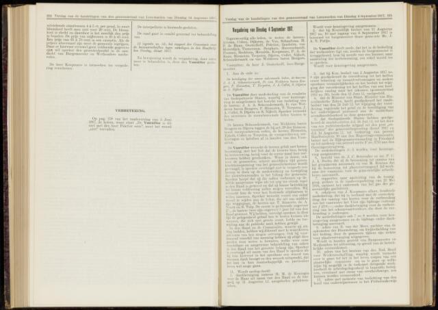 Raadsverslagen van de gemeente Leeuwarden, 1865-2007 (Notulen) 1917-09-04