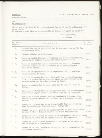 Notulen van de gemeenteraad van Leeuwarderadeel 1980-02-28