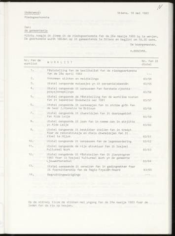 Notulen van de gemeenteraad van Leeuwarderadeel 1983-05-26
