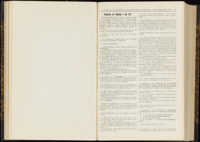 Raadsverslagen van de gemeente Leeuwarden, 1865-2007 (Notulen) 1927-06-08