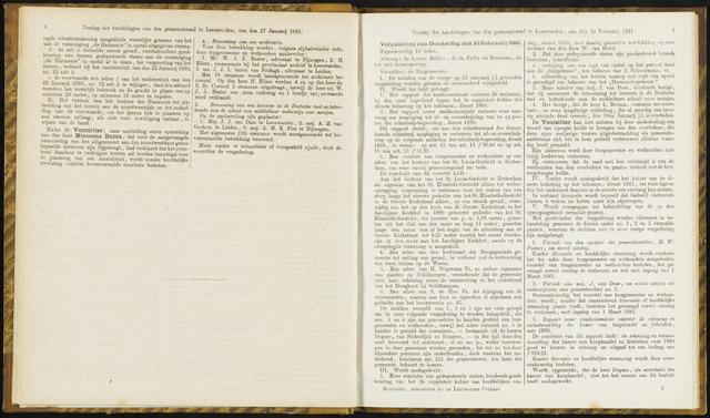 Raadsverslagen van de gemeente Leeuwarden, 1865-2007 (Notulen) 1881-02-10