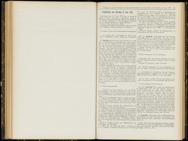 Raadsverslagen van de gemeente Leeuwarden, 1865-2007 (Notulen) 1910-06-21