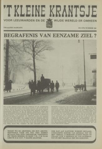 't Kleine Krantsje, 1964-1997 1976-02-20