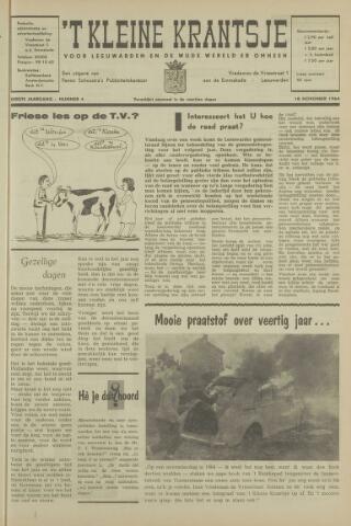 't Kleine Krantsje, 1964-1997 1964-11-18