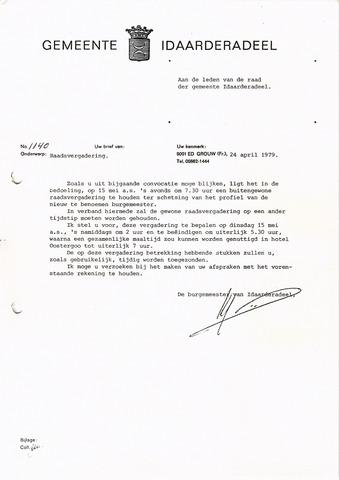 raadsverslagen Idaarderadeel 1935-1983 1979-05-15