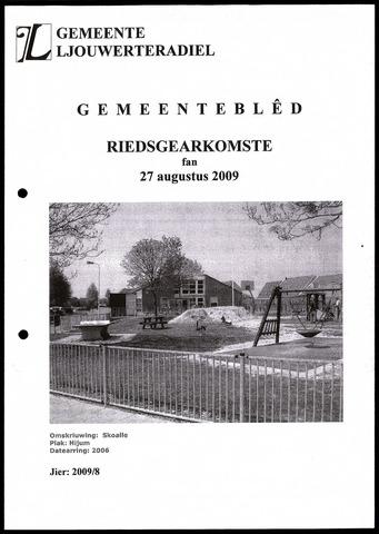 Notulen van de gemeenteraad van Leeuwarderadeel 2009-08-27