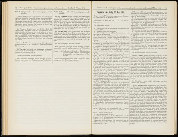 Raadsverslagen van de gemeente Leeuwarden, 1865-2007 (Notulen) 1936-03-17