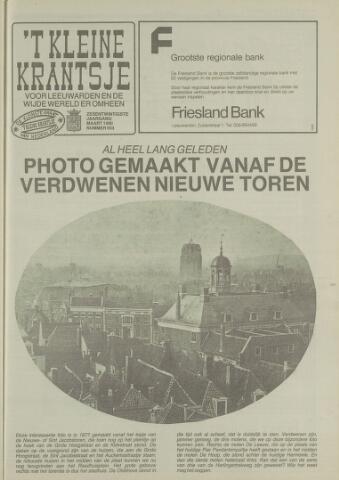 't Kleine Krantsje, 1964-1997 1990-03-01