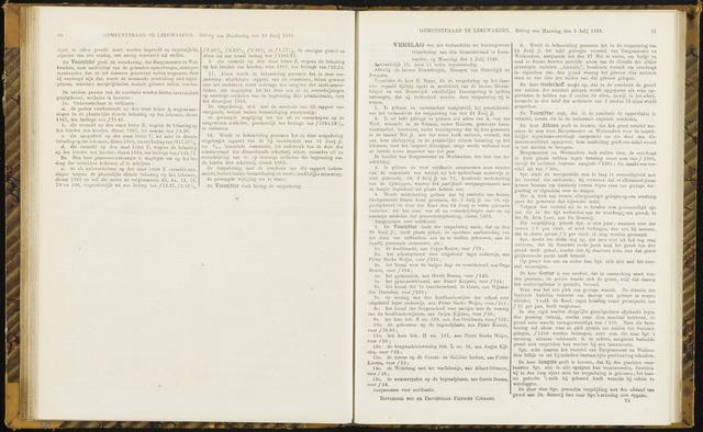Raadsverslagen van de gemeente Leeuwarden, 1865-2007 (Notulen) 1869-07-05
