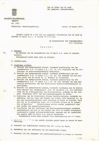raadsverslagen Idaarderadeel 1935-1983 1973-04-10