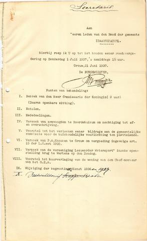 raadsverslagen Idaarderadeel 1935-1983 1937-07-01