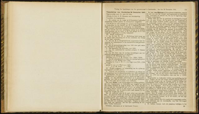 Raadsverslagen van de gemeente Leeuwarden, 1865-2007 (Notulen) 1882-12-28
