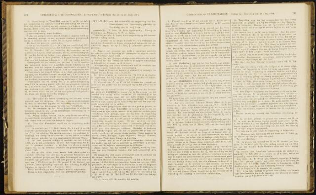 Raadsverslagen van de gemeente Leeuwarden, 1865-2007 (Notulen) 1868-06-25