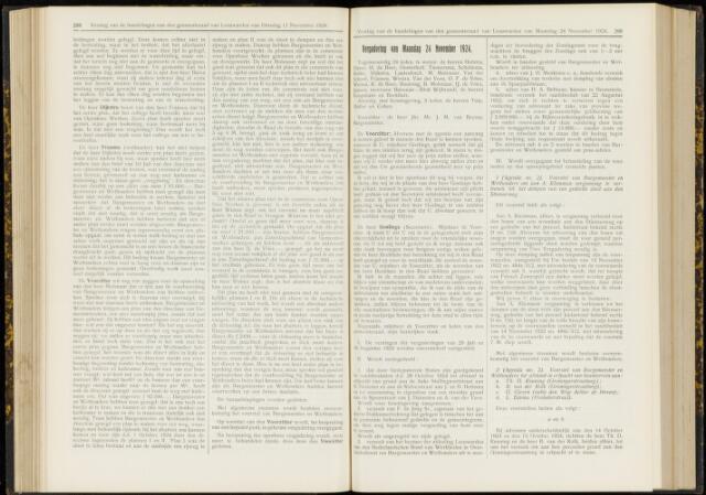 Raadsverslagen van de gemeente Leeuwarden, 1865-2007 (Notulen) 1924-11-24