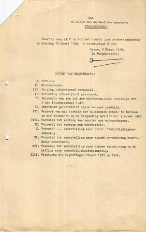 raadsverslagen Idaarderadeel 1935-1983 1948-03-15
