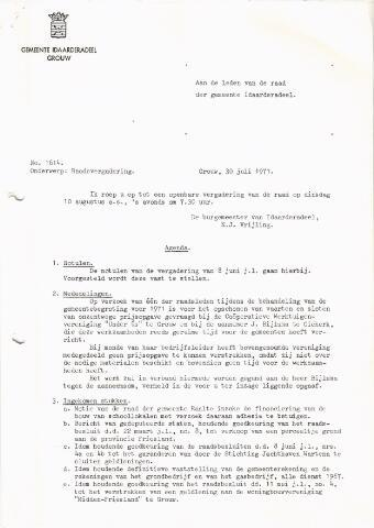 raadsverslagen Idaarderadeel 1935-1983 1971-08-10