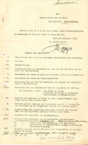 raadsverslagen Idaarderadeel 1935-1983 1937-02-18