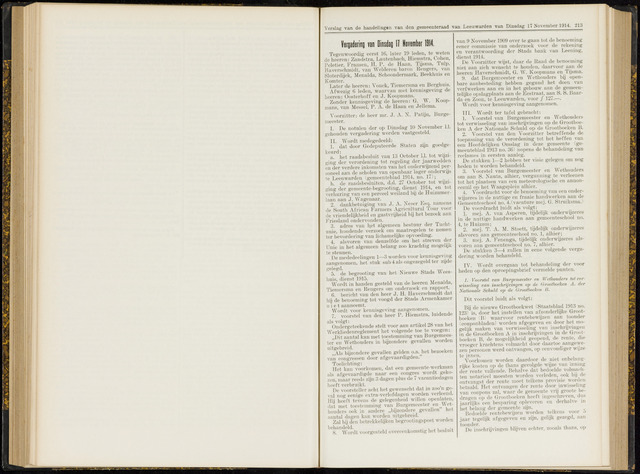 Raadsverslagen van de gemeente Leeuwarden, 1865-2007 (Notulen) 1914-11-17
