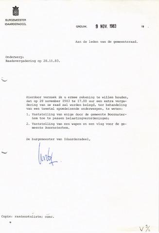 raadsverslagen Idaarderadeel 1935-1983 1983-11-28