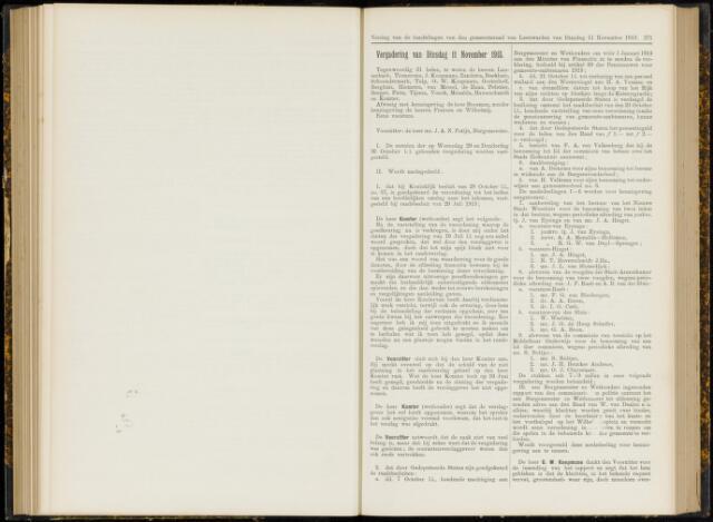 Raadsverslagen van de gemeente Leeuwarden, 1865-2007 (Notulen) 1913-11-11