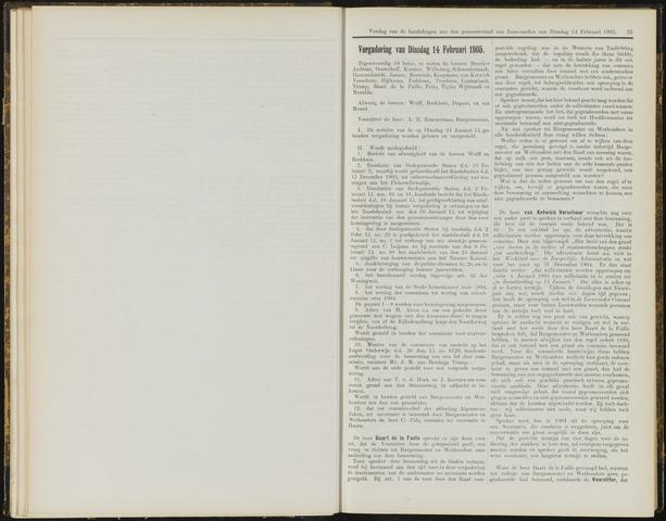 Raadsverslagen van de gemeente Leeuwarden, 1865-2007 (Notulen) 1905-02-14