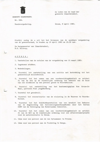 raadsverslagen Idaarderadeel 1935-1983 1983-04-19