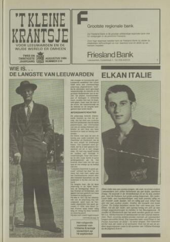 't Kleine Krantsje, 1964-1997 1986-08-01